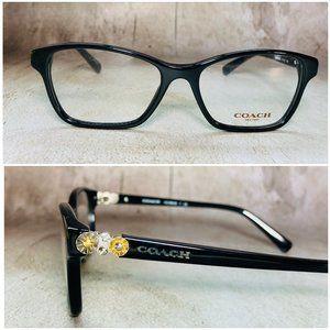 Coach Square Black Eyeglasses Frames NWOT